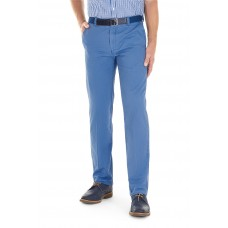 The Longford  Air Force Blue Chino Trousers by Gurteen,