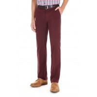 The Longford Red Chino Trousers by Gurteen