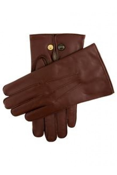 Dents Mendip Wool Lined Leather Officers Gloves  Tan 1510