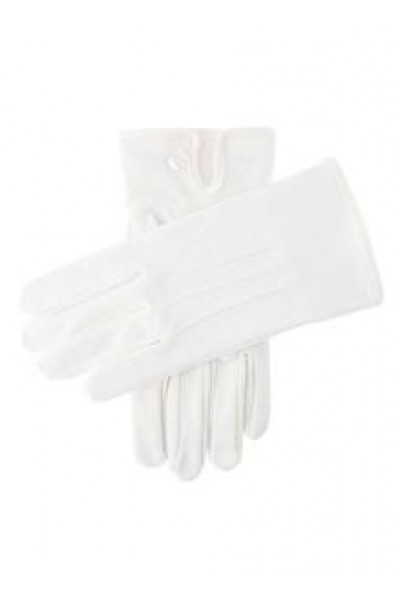 DENTS Curzon White formal  glove 5-2006