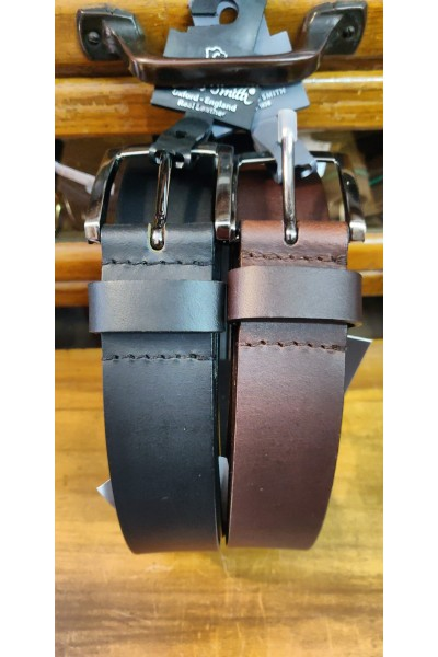 35mm Buffalo Leather Belt by Oxford Leather