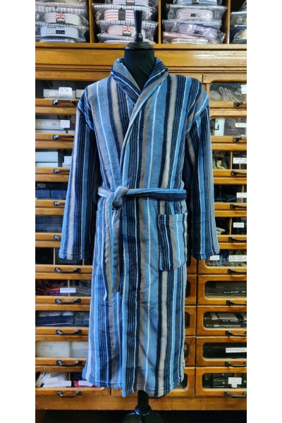 L A Smith Fleece dressing gown