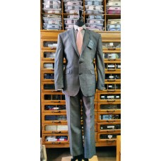 Esteem Collection suit by The Label Cloth by Alfred Brown LE0004 Silver Grey