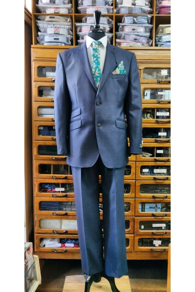 Esteem Collection suit by The Label Cloth by Alfred Brown LE0003 French Navy