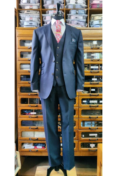 Esteem Collection Suit by The Label cloth by Alfred Brown LE0002 Navy