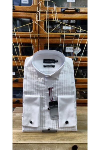 Double Two Dress Shirt Winged Collar 5002
