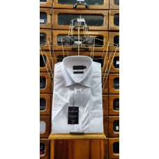Double Two 4500 Half Sleeve Cotton Rich shirt White Price Drop