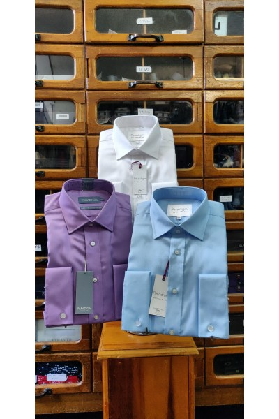 Double Two, Double Cuff Non-Iron Shirt PRICE DROP