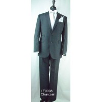 Esteem Collection suit by The Label Cloth by Alfred Brown LE0008 Charcoal