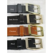Mens Leather Belt 9033