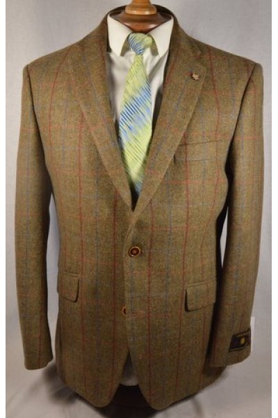 Gurds brown Tweed Jacket 2017