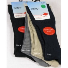 HJ91 Original Cotton Softop Socks Large sizes