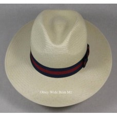 Olney Wide Brim Panama Hat M1