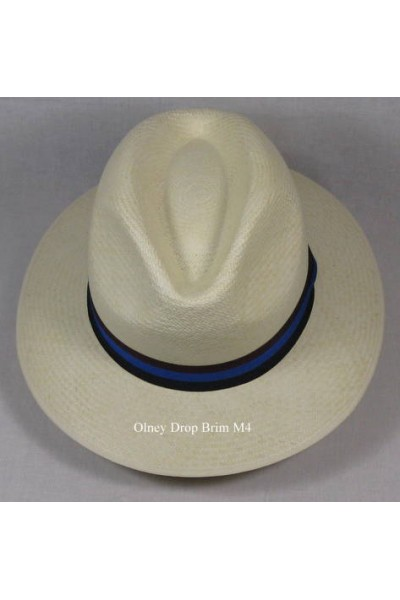 Olney Panama Hat Drop Brim M4