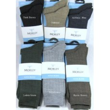 Morley Wool Blend Twin Pack short Socks