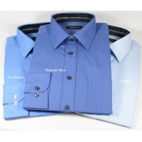 Double Two 3300 Plain Polyester and Cotton Shirts PRICE DROP