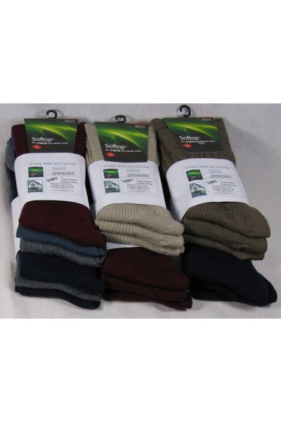 HJ90 Wool Rich Softop socks 3 pack